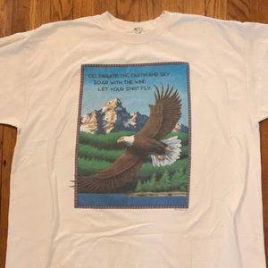 Vintage 1994 American Eagle Uplifting T-shirt